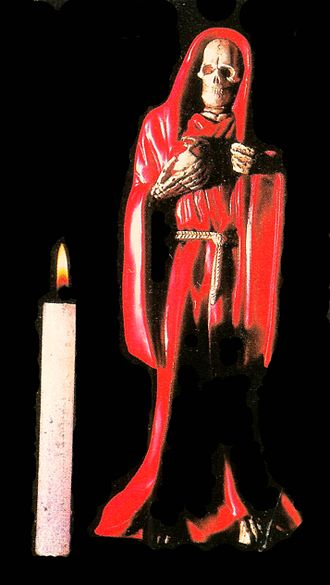 Santa Muerte - Red Santa Muerte.
