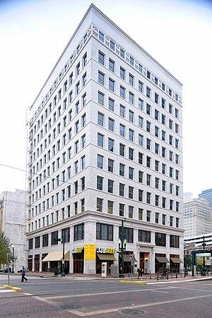Scanlan Building - The building's exterior in 2010