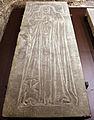 Scavi di santa reparata sotto il duomo di firenze, lastra tombale delle figlie di orlandetto lottieri, 1341.JPG