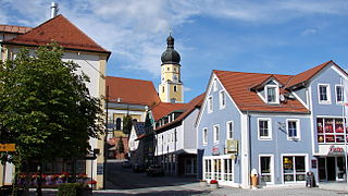 Schierling Place in Bavaria, Germany