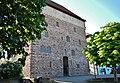 """Schleglerschloss Heimsheim, Schlegerschloss, Um 1415 durch die Herren von Gemmingen als Wohnturm errichtet. Ab 1578 Umbau zum """"Herschaftlichen Fruchtkasten"""" durch die Grafen von Württemberg. 1985-1995, Grundlegende Sa - panoramio.jpg"""