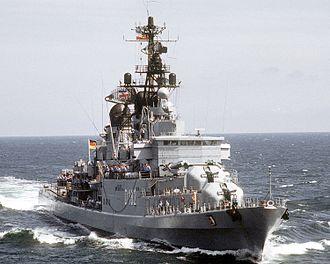 Hamburg-class destroyer - Schleswig-Holstein