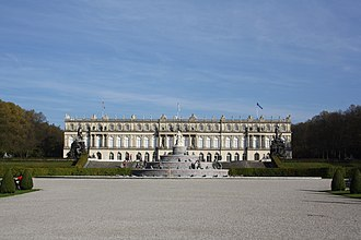 Herrenchiemsee - New Palace from the West