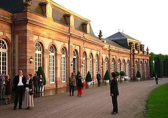 Schwetzingen Palace - Zirkelbau (orangery / reception rooms)