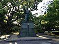 Sculpture of Hachisuka Iemasa in Tokushima Castle.JPG