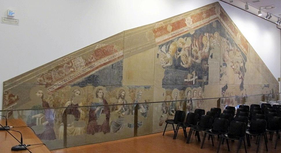 Scuola riminese, giudizio universale, da san giovanni evangelista (oggi sant'agostino) a rimini, 1310 ca. 01