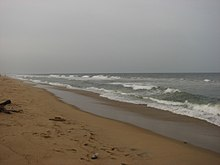 Seashore at VGP golden beach resort.JPG
