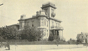 Granville O. Haller - Haller's house on First Hill in Seattle (1900)