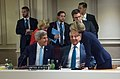 Secretaries Kerry, Hagel Chat With Australian Foreign Minister Bishop Before ISIL Meeting at NATO Summit in Wales (14958572230).jpg