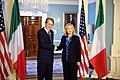 Secretary Clinton Shakes Hands With Italian Foreign Minister Terzi (6852330861).jpg