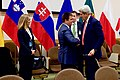 Secretary Kerry and Ukrainian Foreign Minister Klimkin Shakes Hands Before a Meeting in Brussels (31483307115).jpg