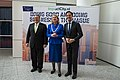 Secretary Pompeo Poses for a Photo With Mayor Krikke and Dutch Prime Minister Rutte.jpg