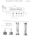 Section of Uparkot Caves with drwaings of front, ornamentation and pillars.png