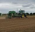 Seed Drilling near Bonby Top Farm - geograph.org.uk - 1959008.jpg