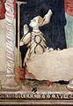 Seguace umbro di gentile da fabriano, madonna col bambino e s. antonio che presenta un devoto, 1470-90 ca., dett.jpg