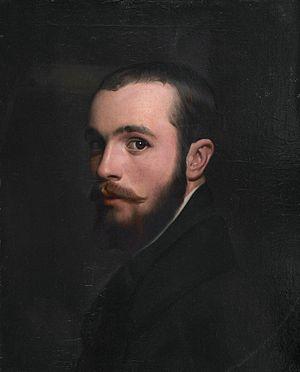 Alfred Boisseau - Alfred Boisseau self-portrait 1842