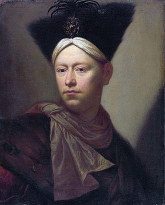 Salomon Adler - Self portrait