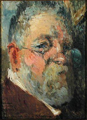 Albert Lebourg - Albert Lebourg, Self Portrait