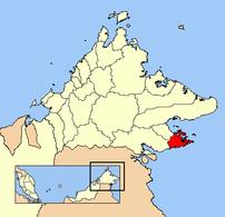 Map of Semporna