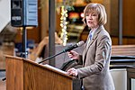 Senator Tina Smith speaking at an event in support of DACA at Hennepin County Government Center Minneapolis, MN (38666664205).jpg