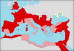 Senatorial and Imperial provinces in 120 AD.png