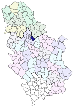 grocka mapa Gradska opština Grocka — Vikipedija, slobodna enciklopedija grocka mapa