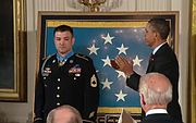 Sergeant First Class Leroy A. Petry White House 12 July 2011