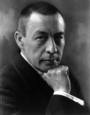 Sergei Rachmaninoff - Rachmaninoff in 1921, photographed by Kubey Rembrandt.