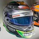 Sergio Perez 2015 helmet 2017 Museo Fernando Alonso.jpg