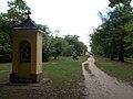 Seven Chapels. Columned path. - Vác.JPG