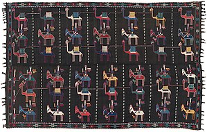 Transcaucasia - Shadda Blanket, first half of 19th century, South Caucasus