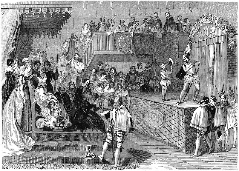 File:Shakspeare Performing Before Queen Elizabeth and Her Court.jpg