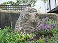 Sheep sculpture, Pound Street, Moretonhampstead - geograph.org.uk - 940226.jpg