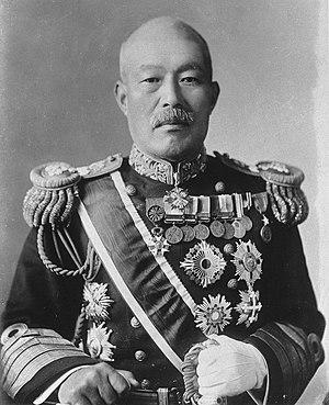 Shimamura Hayao - Portrait of Admiral Shimamura Hayao from National Diet Library, Tokyo