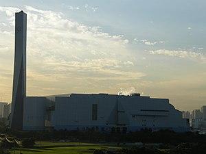 Yumenoshima - Shin-Koto Incineration Plant