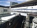 Shinkansen Shin-Yokohama station solid crossing railway lines 04.jpg