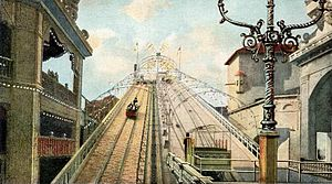 Luna Park, Coney Island (1903) - Shoot-the-Chutes ride