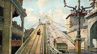 Luna Park, Coney Island (1903) - Shoot-the-Chutes ride