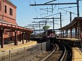 Shore Line East train at New London Union Station, June 2013.JPG