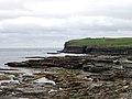 Shore near Downpatrick Head - geograph.org.uk - 486651.jpg