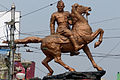Shyambazar 5 point crossing-statue of Subhas Chandra Bose-P1080837.jpg