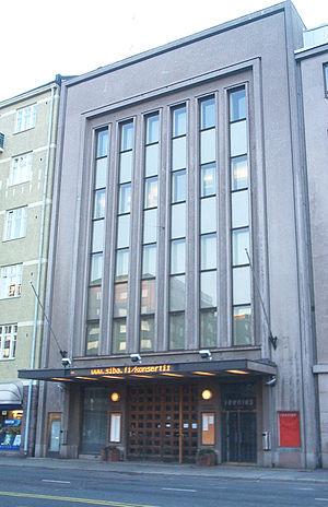 Sibelius Academy - Sibelius Academy in central Helsinki