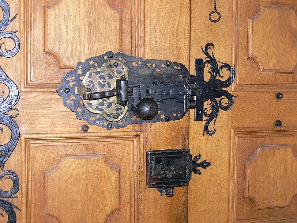 Sie%C3%9Fen Klosterkirche Portal Schloss