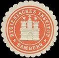 Siegelmarke Hygienisches Institut Hamburg (Hygiene) W0356047.jpg