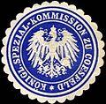 Siegelmarke Königliche Spezial - Kommission zu Coesfeld W0204647.jpg