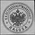 Siegelmarke K.K. Bezirkshauptmannschaft Ragusa W0322975.jpg