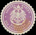 Siegelmarke K. Marine Kommando der Kreuzerdivision W0357426.jpg