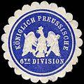 Siegelmarke K. Pr. 6te Division W0285597.jpg