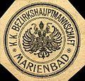 Siegelmarke Kaiserlich Königliche Bezirkshauptmannschaft - Marienbad W0218094.jpg