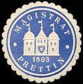 Siegelmarke Magistrat Prettin W0260288.jpg